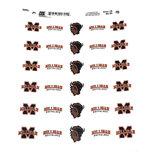 Milligan Circle Sheet Stickers
