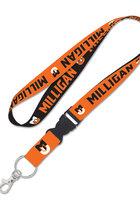 Milligan Orange Buckle Lanyard
