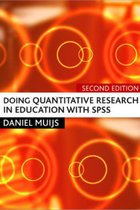 DOING QUANTITATIVE RESEARCH IN EDUCATION (P)
