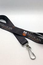 Milligan University Gray Lanyard
